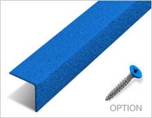 Stair Nosing - Blue RAL 5015