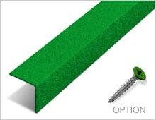 Stair Nosing - Green RAL 6001