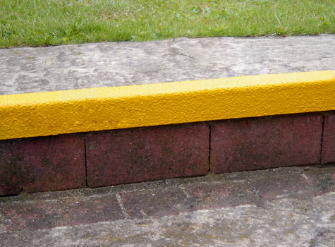 13. Anti-Slip Stair Nosings can be applied to nearly any substrate.