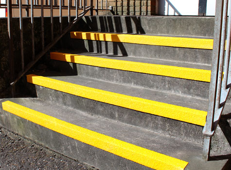 7. Anti-Slip Stair Nosings - designed to fit to the front of the step.