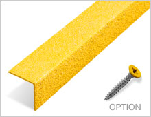 Stair Nosing - Yellow RAL1003