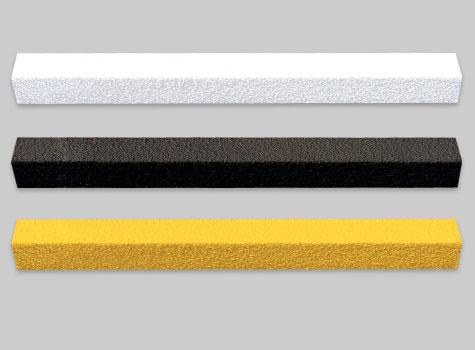14. Anti-Slip Stair Nosing in standard yellow, Black and White.