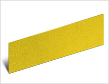 Stair Riser - Yellow - - gritted or smooth finish