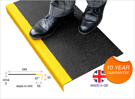 1. DDA Compliant Anti-slip Stair Tread Covers, help create a safer environment.