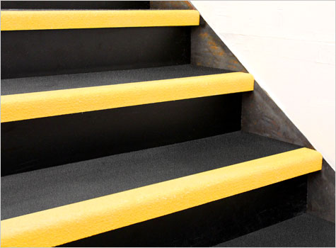 2. Ideal for stairs with high footfall areas and heavily worn steps.