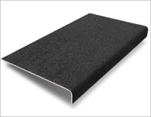 Stair Tread Cover - Black RAL 9004