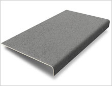 Stair Tread - Medium Grey RAL 7004