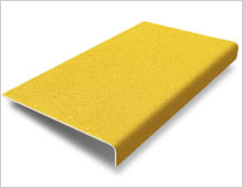 Stair Tread Cover - Yellow RAL 1003