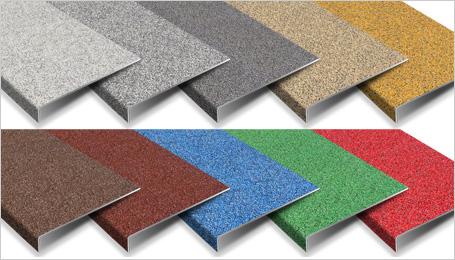Stair Tread Cover - Colourdec blended colour range.