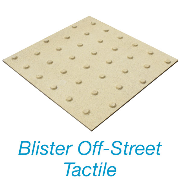 Blister Off-Street Tactile Plate