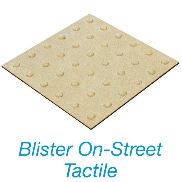 Blister On-Street Tactile Plate