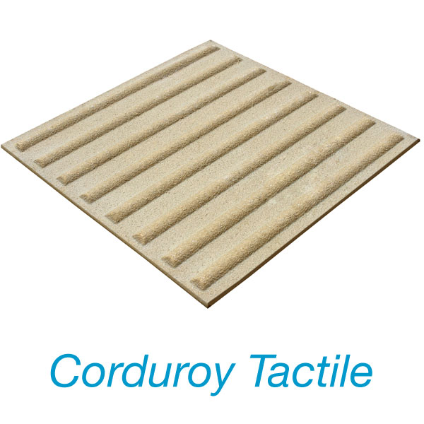 Corduroy Tactile Plate