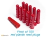 rawl_plugs_pack_of_100_plastic_wall_plugs