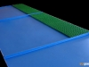 Bespoke spill trays with anti-slip grating panelled areas.