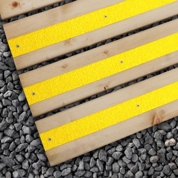 Anti Slip Decking Strips In 4 Colours Free Screws