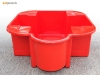 IBC spill container bund IBC secondary containment in red - catch leaks & drips