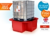sg101_red_ibc_bund_single_ibc_spill_pallet_single_ibc_sump_pallet_ibc_secondary_containment_sale