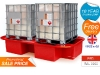 sg104_2_ibc_spill_pallet_spill_containment_bundstand_in_red_plastic_ibc_secondary_containment_sale