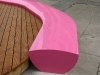 Fibreglass seating