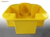 Sui Generis one IBC bund stand spill containment in yellow