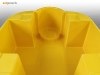 Sui generis one IBC bandstand spill containment manufactured in yellow