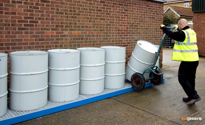 New Drum Bund Ideal For Hand Barrel Trolley Access