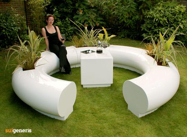 Halo Modular Circular Seating Amp Garden Planters