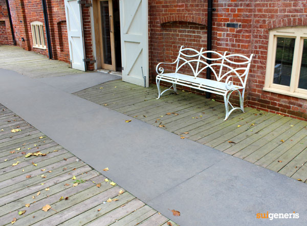 Our Safetread flooring has been installed into the beautiful surroundings of Snape Maltings in Suffolk.