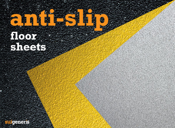 Safetread Anti-Slip GRP Floor Sheets for public & workplace safety.