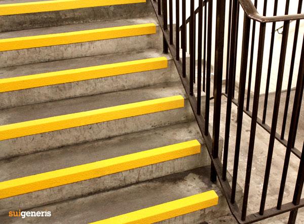Avoid Stairway Slips And Falls With Anti Slip Stair Nosing