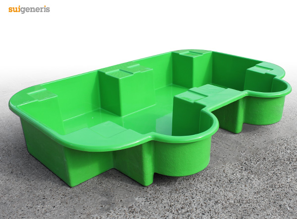 IBC Bund Spill Containment for 2 IBC units in Green