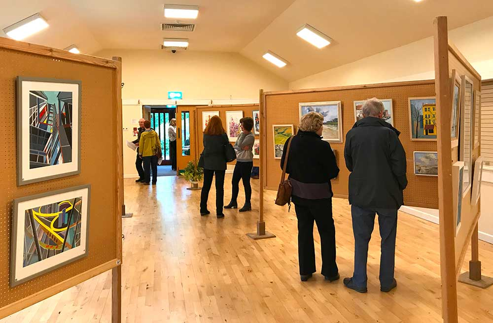 Art Exhibition by The Assington Group of Artists.