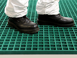 GRP Grating, a cost effective solution to improving safety.
