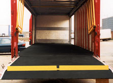 Anti-slip floor sheets for vehicles