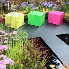 RHS Flower Show, Cube seating