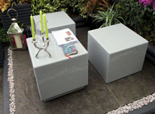 RHS Chelsea Cube seats & tables