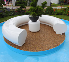 RHS Flower Show, Halo seating