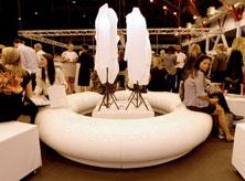 Graduate Fashion Week Halo seating