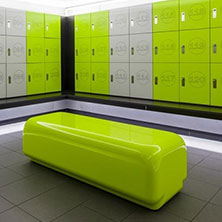 Sweat! Fitness Gyms, Morph seating