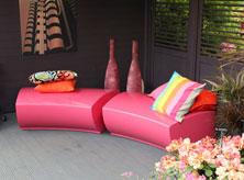 RHS Chelsea Serpentine seating