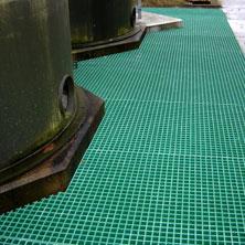 GRP Grating walkway