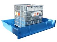 Custom IBC spill containment bund