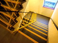Stair landing covers