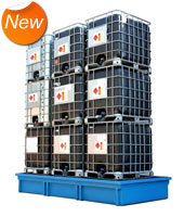 Store up to 9 IBC's.