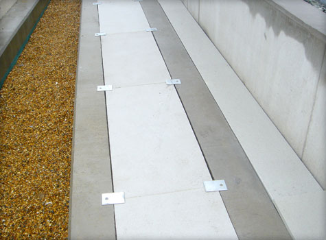 5. GRP fibreglass grating cable trough covering