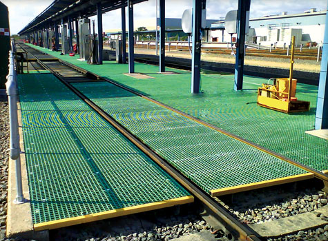 13. GRP Grating for the Rail Industry.