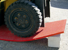 GRP Grating: Impact resistant