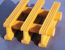 Pultruded fibreglass grating