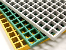 GRP Grating corrosion and chemical resistance