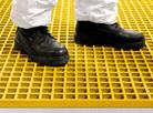 GRP Grating: Slip resistant